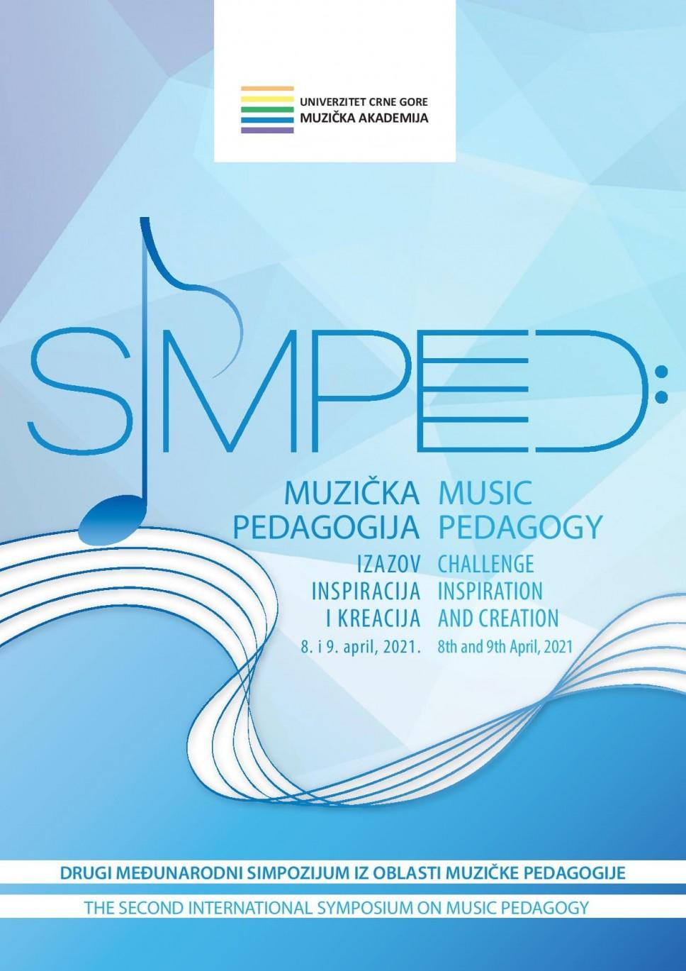 SIMPED2021 Važno obavještenje za učesnike i Program