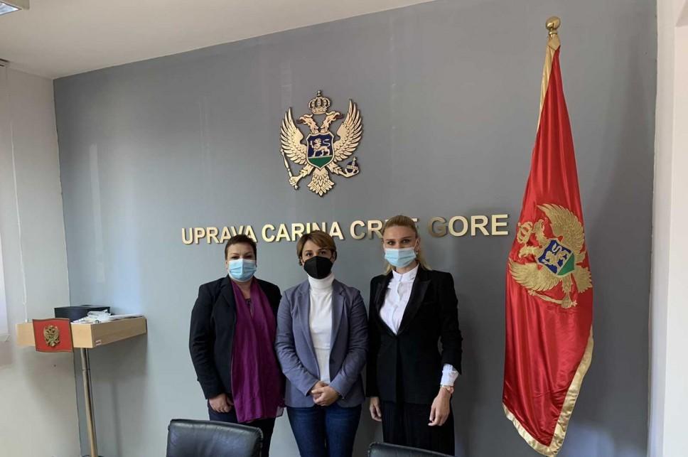 """Zvanična posjeta Upravi carina Crne Gore u okviru projekta """"Inovativni sistemi za unapređenje carinske kontrole protiv prevare – ISACC"""""""