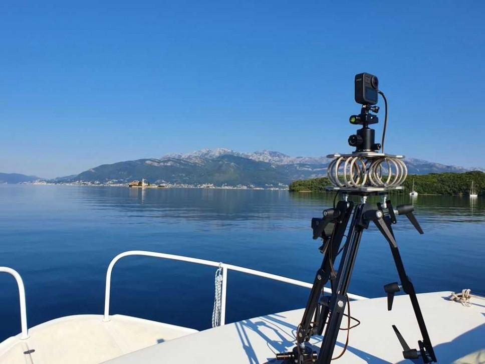 Snimanje georeferenciranog video zapisa Bookokotorskog zaliva u sklopu Nautica CBC projekta